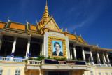 Chan Chaya Pavilion, Queen Mother Norodom Monineath