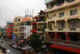 View from the veranda of FCC, Phlavu 178 (Phnom Penh streets are mostly numbered)