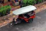 Cambodian version of a tuktuk, Phnom Penh