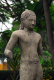 Armless Buddha, Cambodian National Museum garden