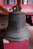 Another French-era bell, Cambodian National Museum