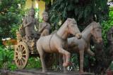 Chariot, Wat Ounalom, Phnom Penh