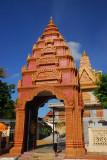 Gate, Wat Ounalom, Phnom Penh