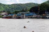 Mekong River port of Chiang Saen, Thailand