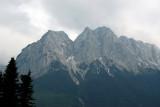 Zugspitze (2962m) seen from Grainau, Germany