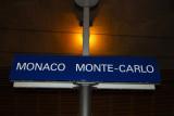 Monaco Monte-Carlo station SNCF