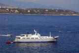 Ship anchored off the casino, Monte Carlo