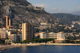 The eastern end of Monaco seen from the Casino terrace