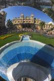 Monte Carlo Casino reflected