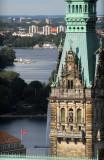 Hamburg Rathausturm & Alster