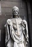 Sculpture salvaged from Nikolaikirche