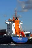 Container ship Jork Reliance, Hamburg