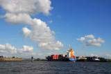 Elbe River, Port of Hamburg