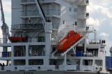 Life boat on the Sven (Hamburg) with callsign DGGW