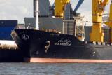 The Iranian vessel Iran Khuzestan operates under the Maltese flag as Pretty Sea