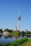 München - Olympiasee, Olympiaturm