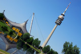 München - Olympiastadion, Olympiaturm