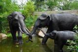 Elephant sculpture, Singapore Zoo