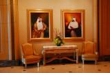 HH Sheikh Zayed and the current UAE President, HH Sheikh Khalifa bin Zayed Al Nahyan