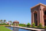 Garden behind Emirates Palace Hotel