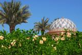 Garden and pavilion, Emirates Palace Hotel