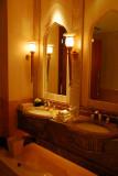 Palatial washroom, Emirates Palace