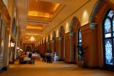 Lower level, interior of Emirates Palace Hotel, Abu Dhabi