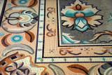 Mosaic floor, Emirates Palace Hotel, Abu Dhabi