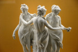 The Three Graces, ca 1790, by Christian Gotfried Juchtzer