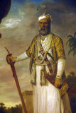 Muhammad Ali Khan, Nawab of Arcot and the Carnatic, 1770, by Tilly Keitle