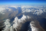 Karakorum Range (36 44N/75 55E) looking west near the Pakistan-Afghanistan-China meeting point