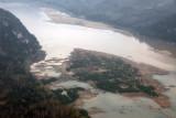 Mekong River downstream from Luang Prabang, Laos