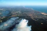 Bush fire, Currambine (Perth) Western Australia 19 Feb 2006