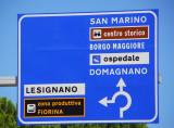Heading for San Marino's Centro Storico - historic district