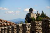La Cesta (Second Tower) from Castello della Guaita, San Marino