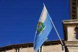 Flag of the Most Serene Republic of San Marino (Serenissima Repubblica di San Marino)