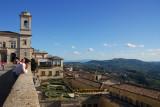 View from the Piazza della Libertà, San Marino
