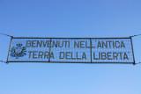 Benvenuti Nell' Antica Terra Della Liberta - San Marino border