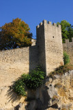Wall of the old city of San Marino