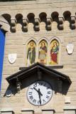 Clock tower of the Palazzo Pubbico, San Marino