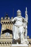 Libertà, Palazzo Pubblica, San Marino