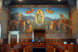 Sala del Consiglio Grande e Generale - Grand and General Council Chamber, Palazzo Pubblico