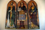 Santi Leo, Marino e Agata from the clock tower - 1894 by Guglielmo Castellani