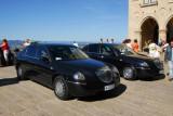 Piazza della Libertà, cars of the two Captains Regent of San Marino