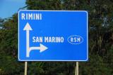 Turn right here - RSM - Repubblica di San Marino
