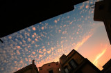 the sky over my kitchen