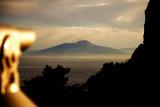 Mt. Vesuvius at dawn