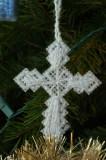 Plastic canvas Cross