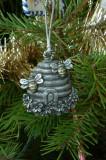 Pewter Skep ornament