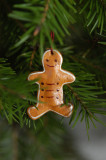 Clay Gingerbread man